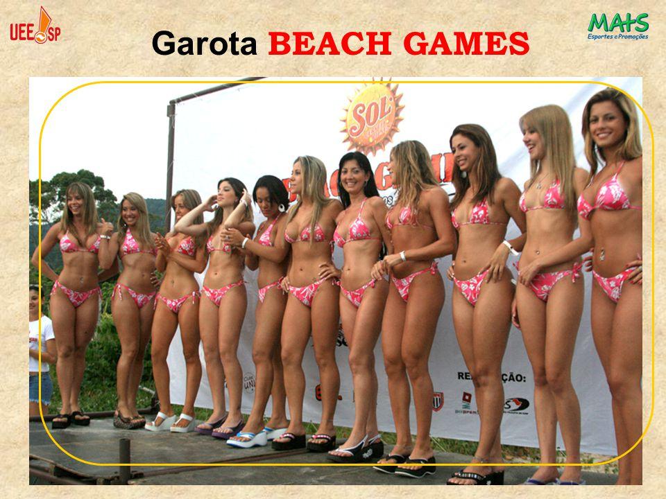 Garota BEACH GAMES