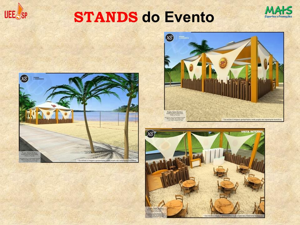 STANDS do Evento