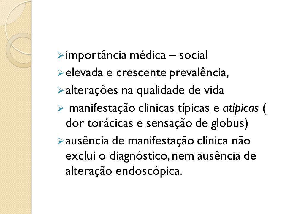 importância médica – social
