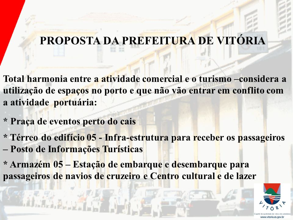 PROPOSTA DA PREFEITURA DE VITÓRIA