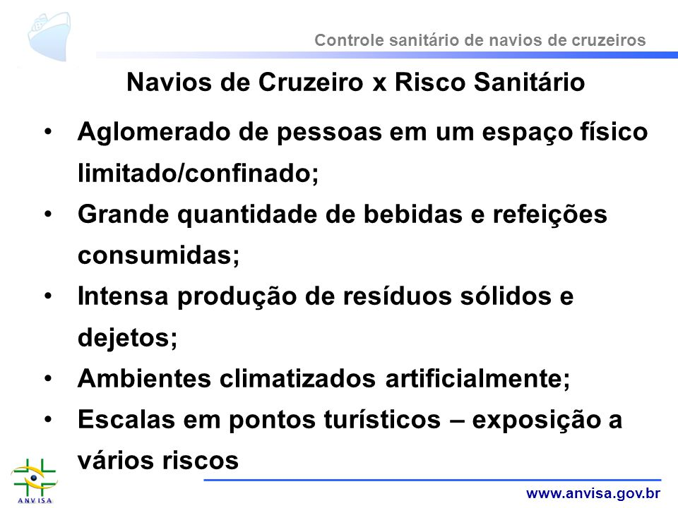 Navios de Cruzeiro x Risco Sanitário