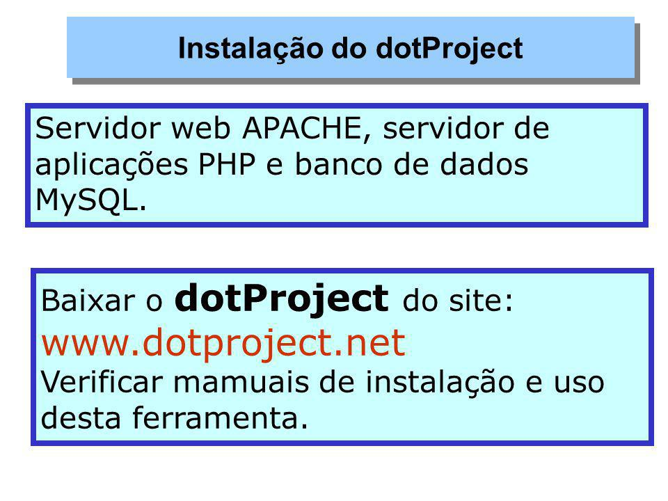 Instalação do dotProject
