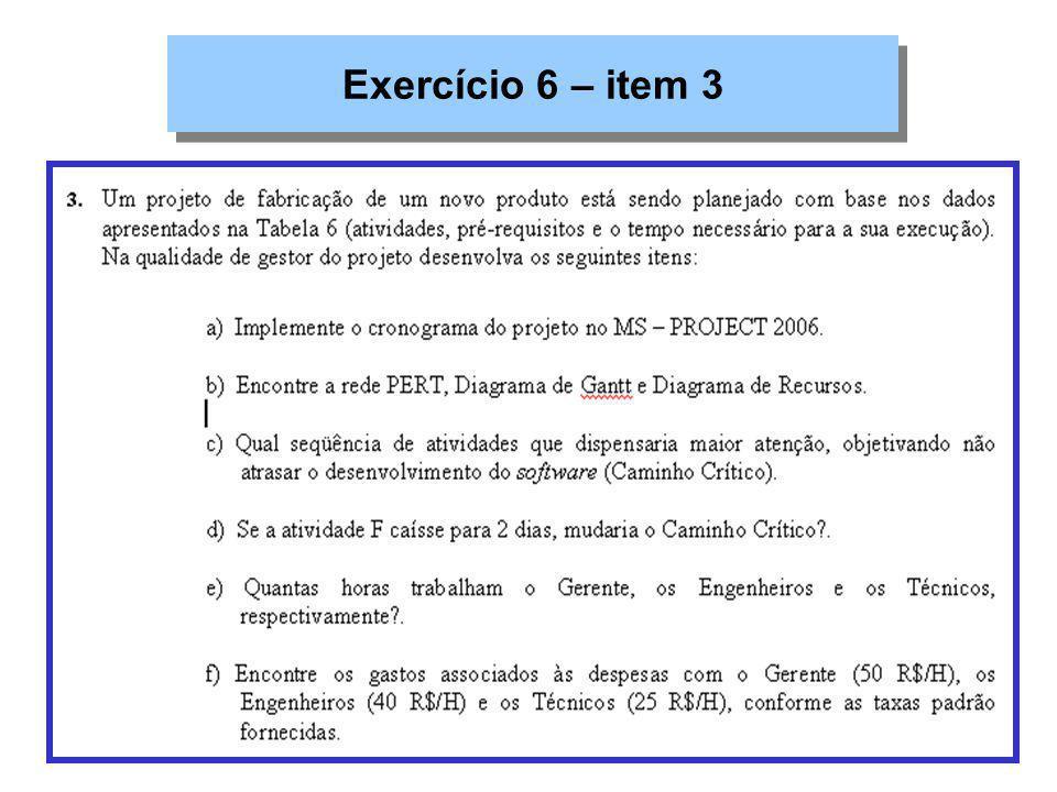 Exercício 6 – item 3