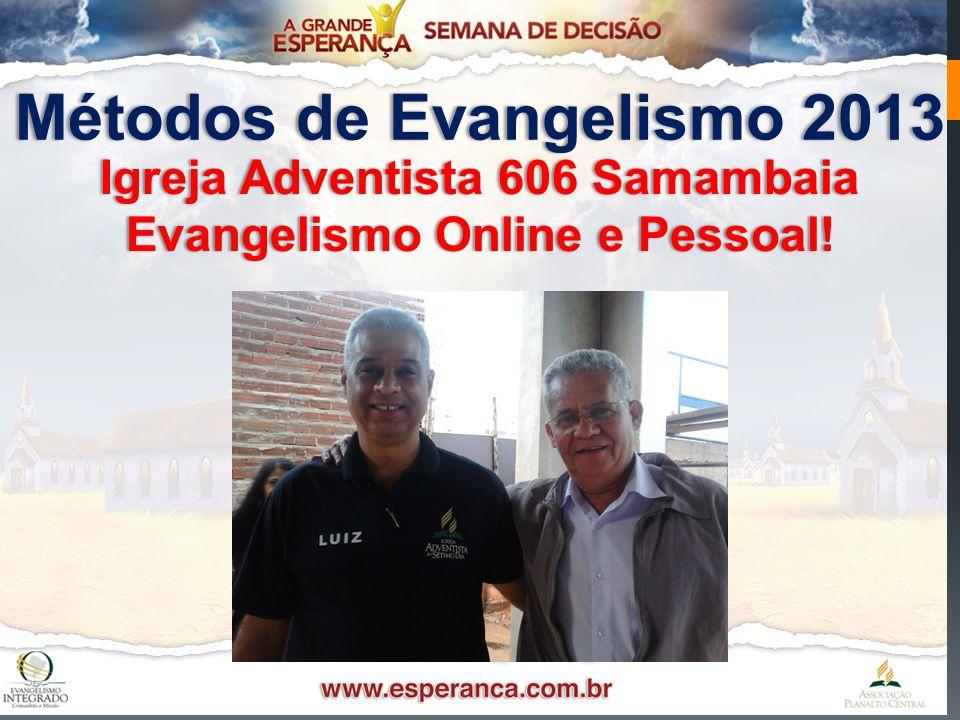 Métodos de Evangelismo 2013