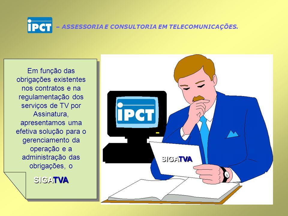– ASSESSORIA E CONSULTORIA EM TELECOMUNICAÇÕES.