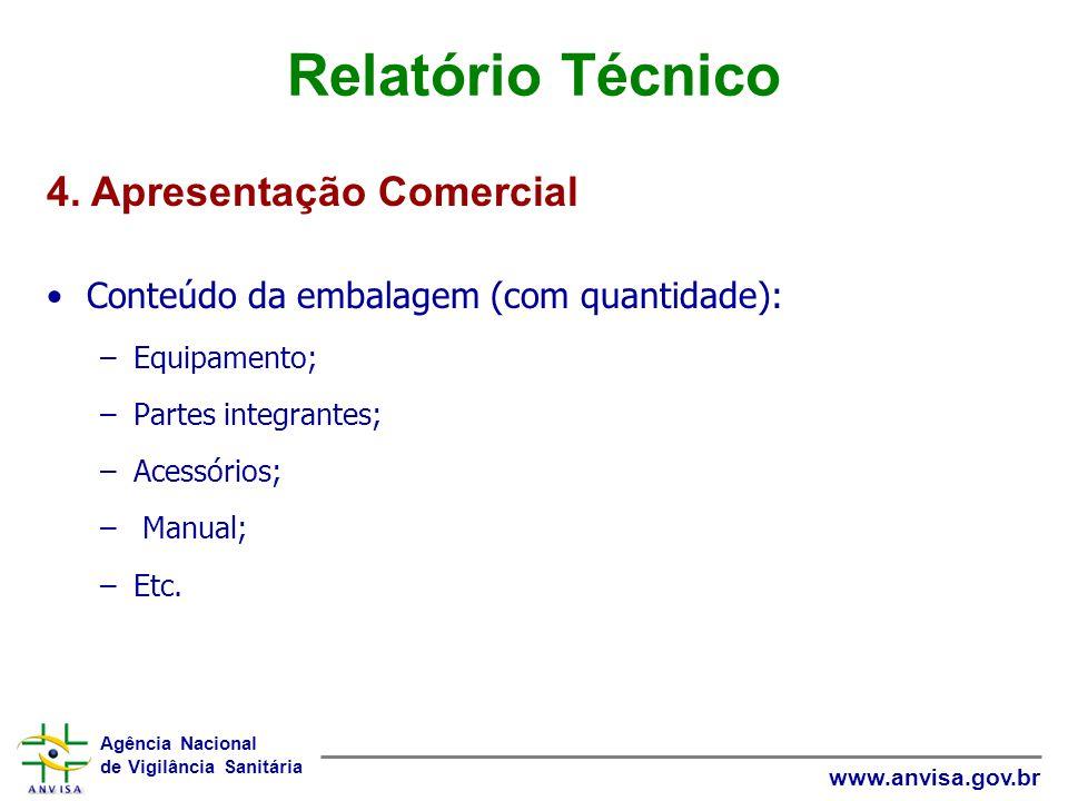 Relatório Técnico 4. Apresentação Comercial