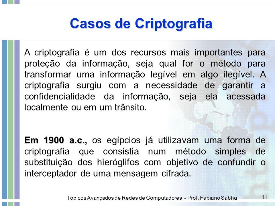 Casos de Criptografia