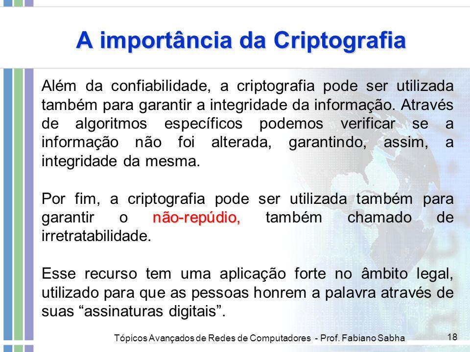 A importância da Criptografia