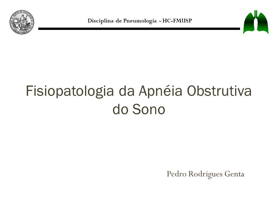Fisiopatologia da Apnéia Obstrutiva do Sono