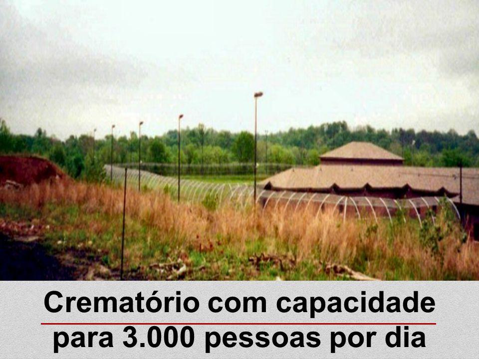 Crematório com capacidade