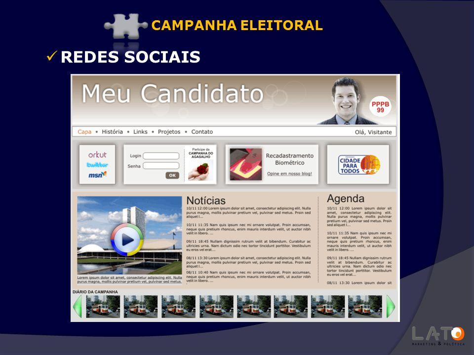 CAMPANHA ELEITORAL REDES SOCIAIS