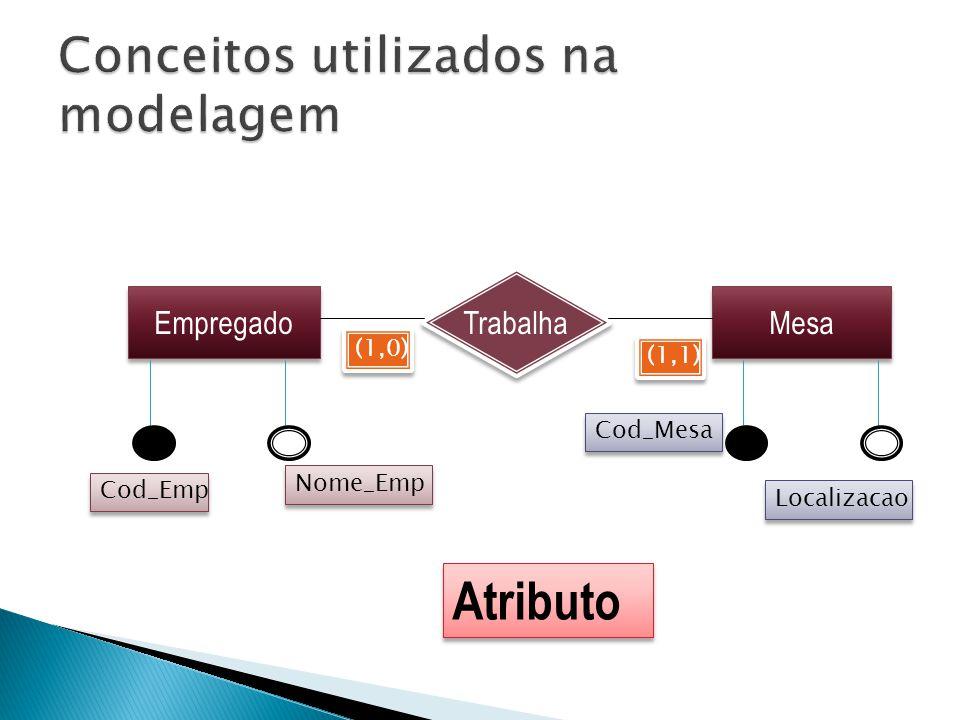 Conceitos utilizados na modelagem