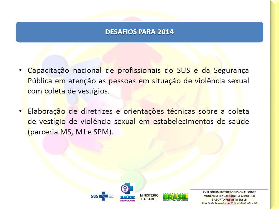 DESAFIOS PARA 2014