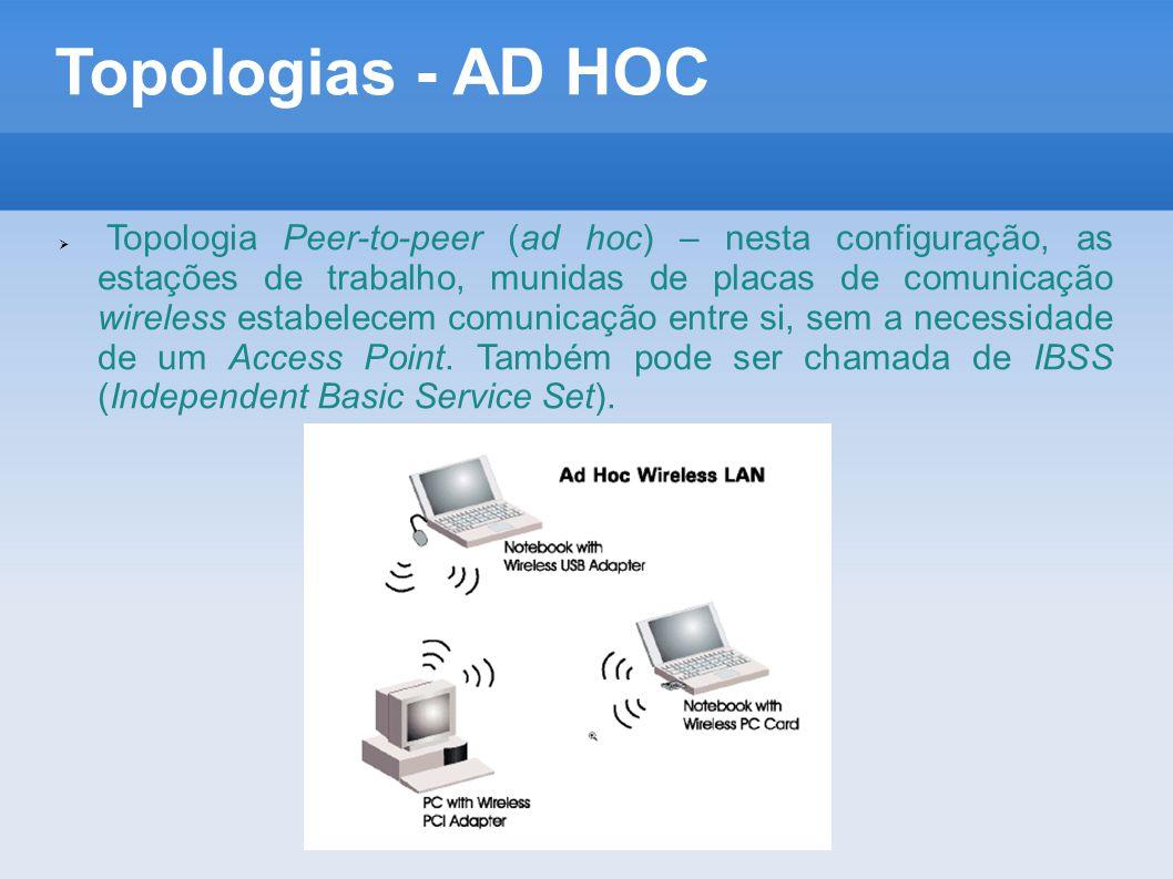 Topologias - AD HOC