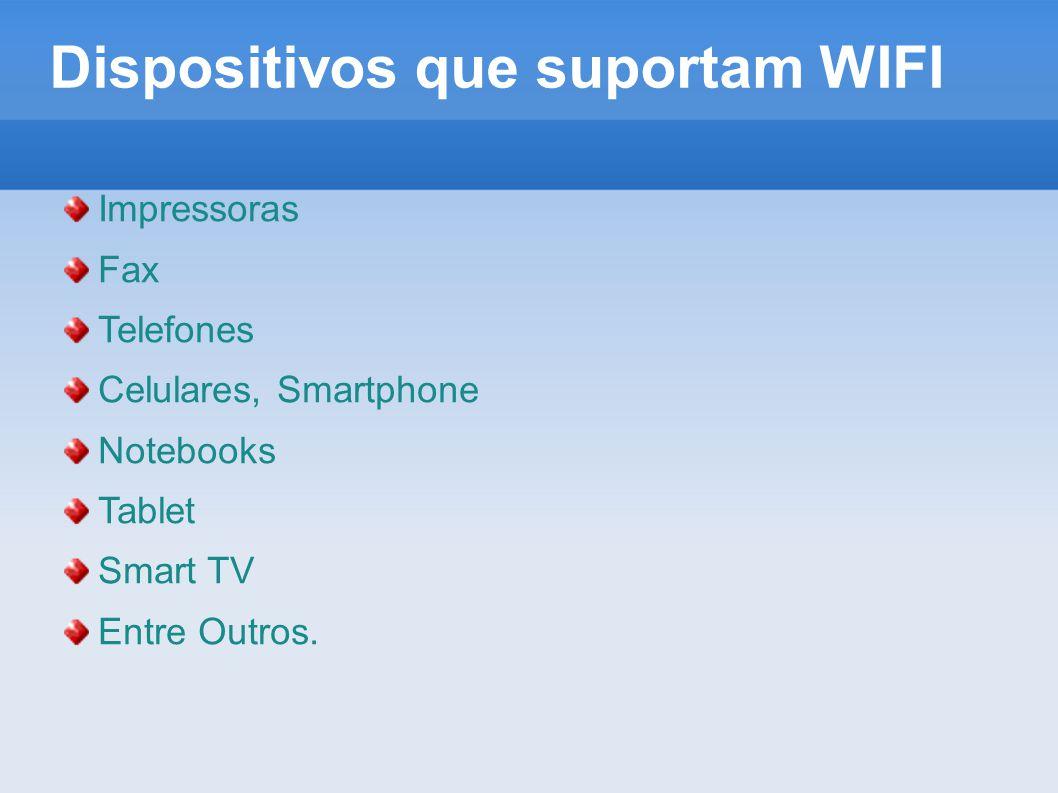 Dispositivos que suportam WIFI