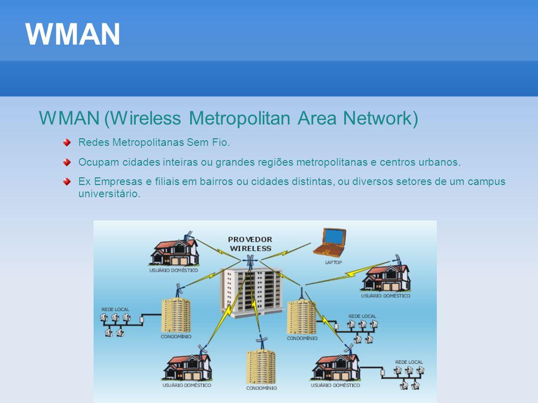 WMAN WMAN (Wireless Metropolitan Area Network)