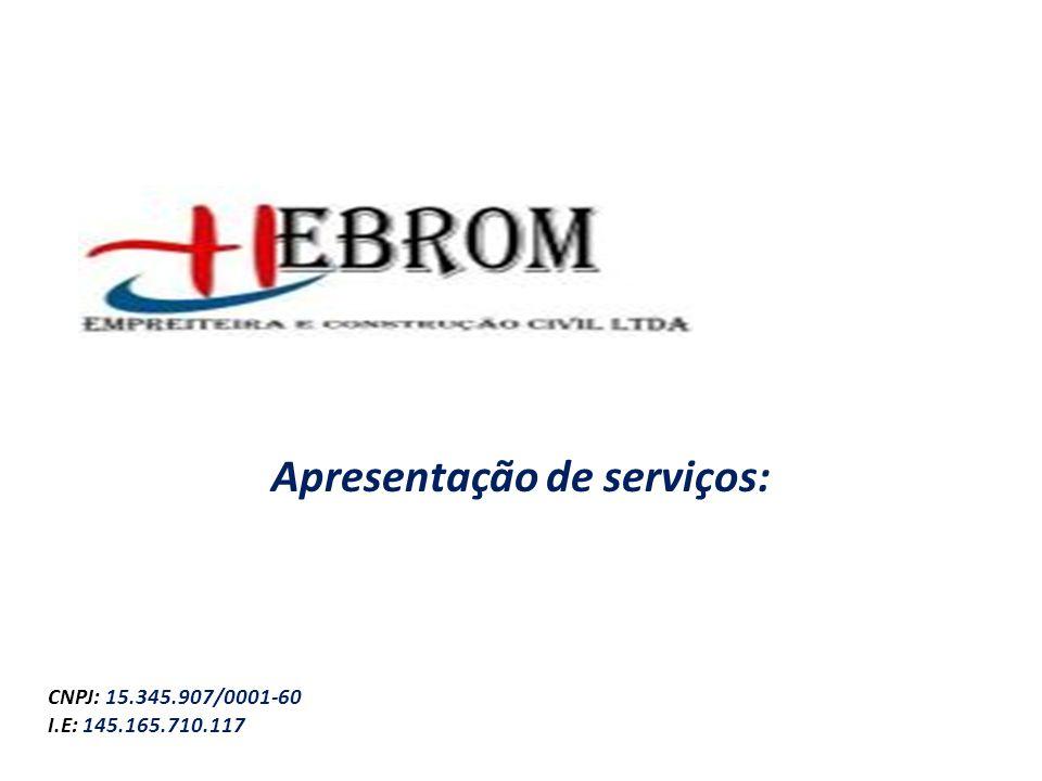 Apresentação de serviços: