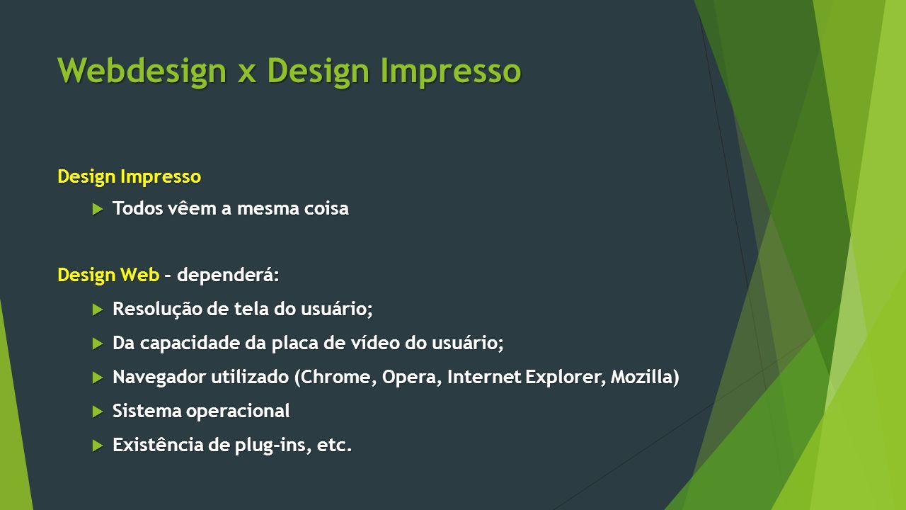 Webdesign x Design Impresso