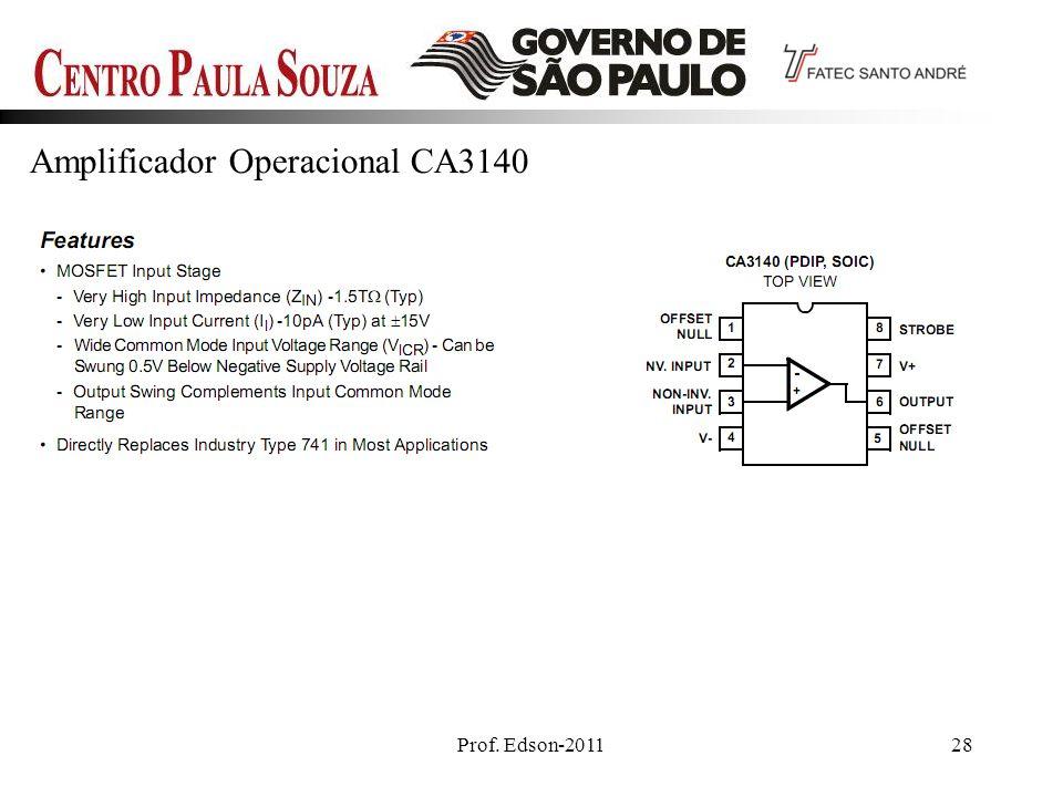 Amplificador Operacional CA3140