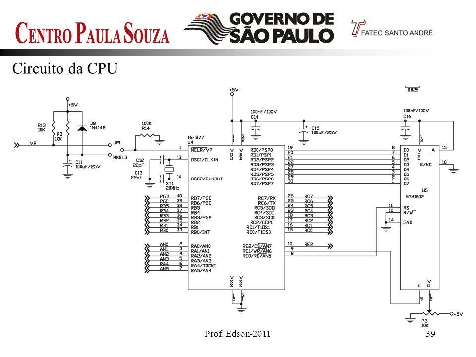 Circuito da CPU Prof. Edson-2011