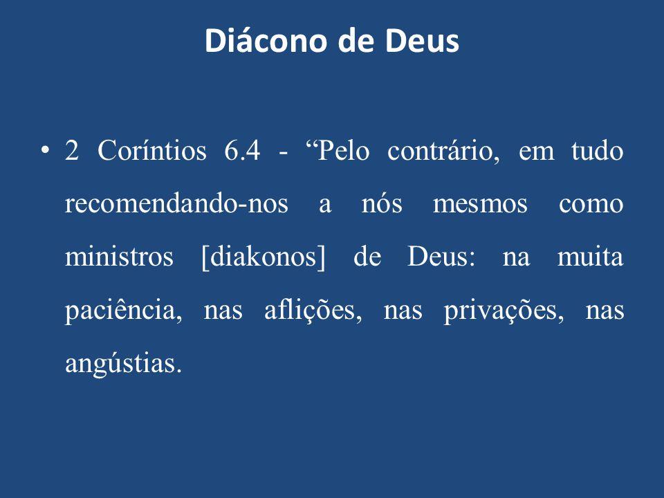 Diácono de Deus