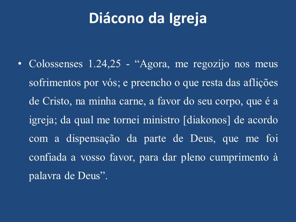 Diácono da Igreja