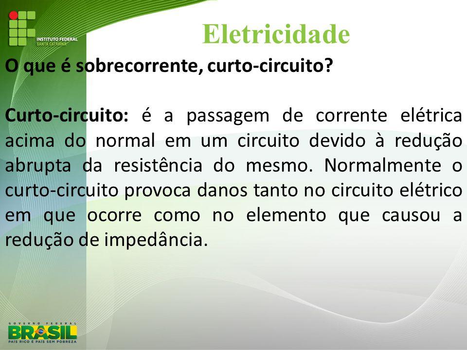 Eletricidade O que é sobrecorrente, curto-circuito
