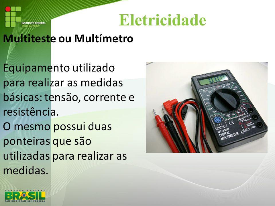 Eletricidade Multiteste ou Multímetro