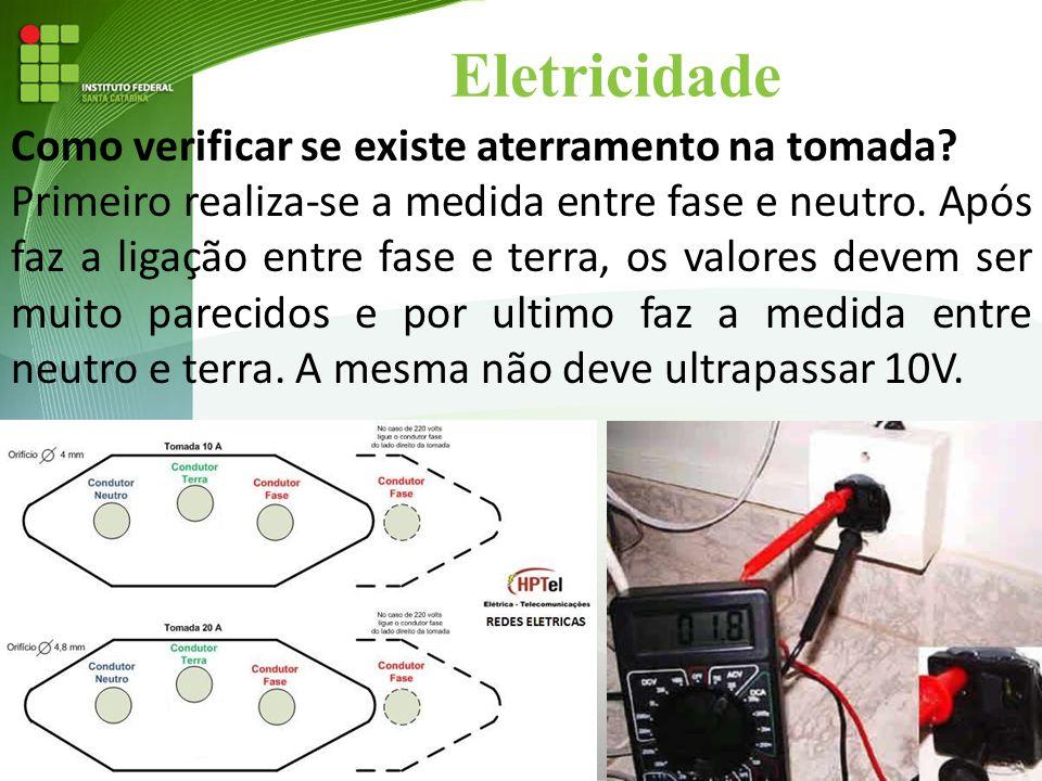 Eletricidade Como verificar se existe aterramento na tomada