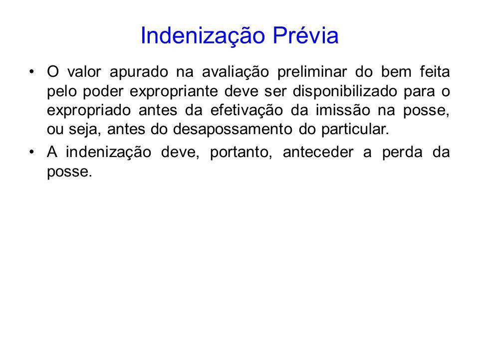 Indenização Prévia