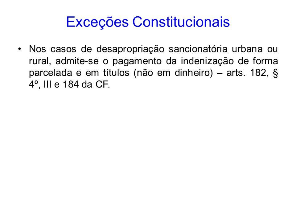 Exceções Constitucionais