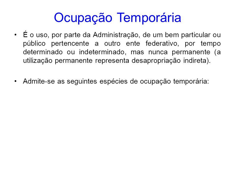 Ocupação Temporária