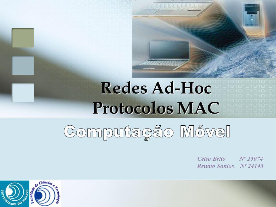 Redes Ad-Hoc Protocolos MAC