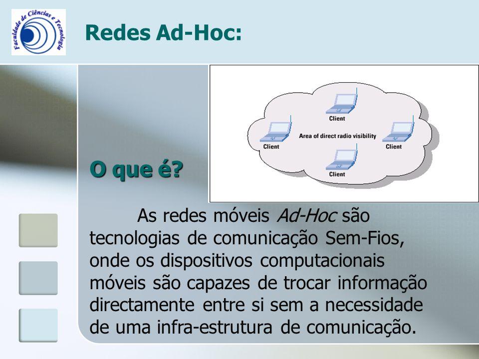 Redes Ad-Hoc: O que é