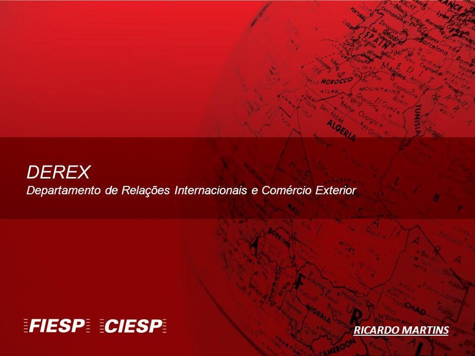 DEREX Departamento de Relações Internacionais e Comércio Exterior