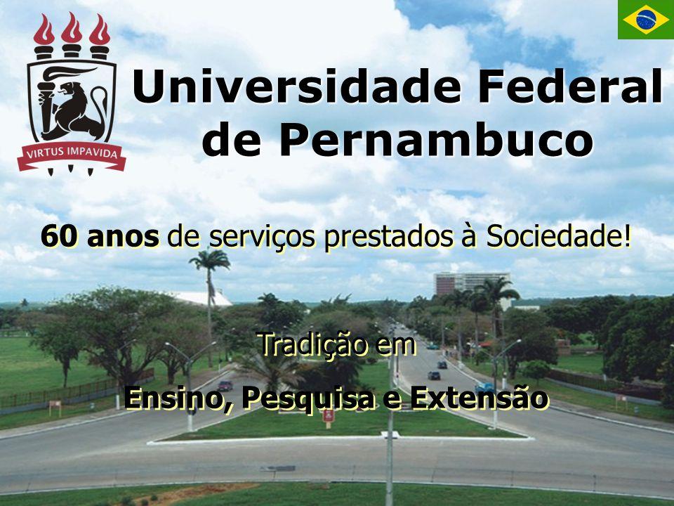 Universidade Federal de Pernambuco Ensino, Pesquisa e Extensão