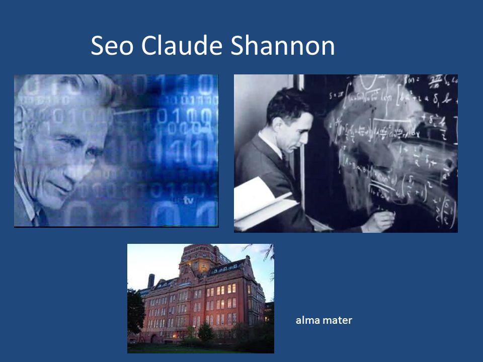 Seo Claude Shannon alma mater