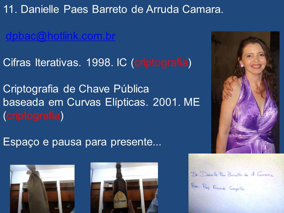 11. Danielle Paes Barreto de Arruda Camara.