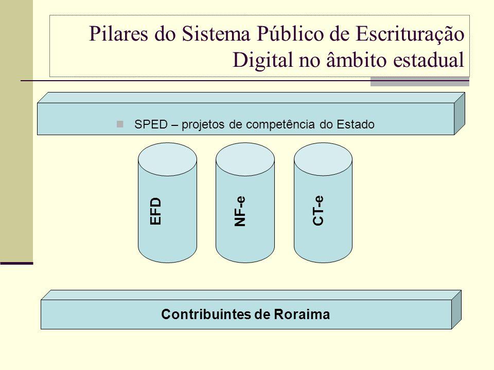 Pilares do Sistema Público de Escrituração Digital no âmbito estadual