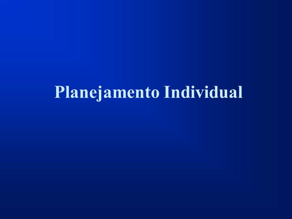 Planejamento Individual