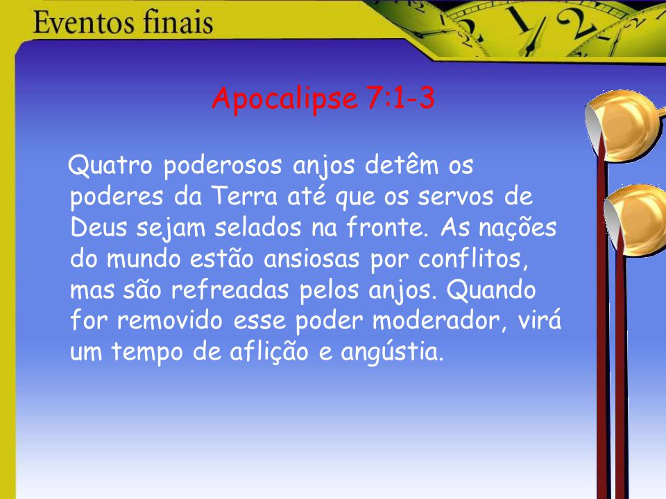 Apocalipse 7:1-3