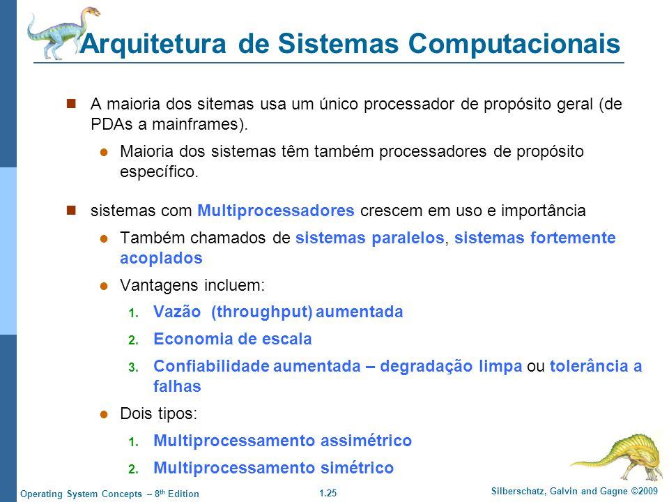 Arquitetura de Sistemas Computacionais