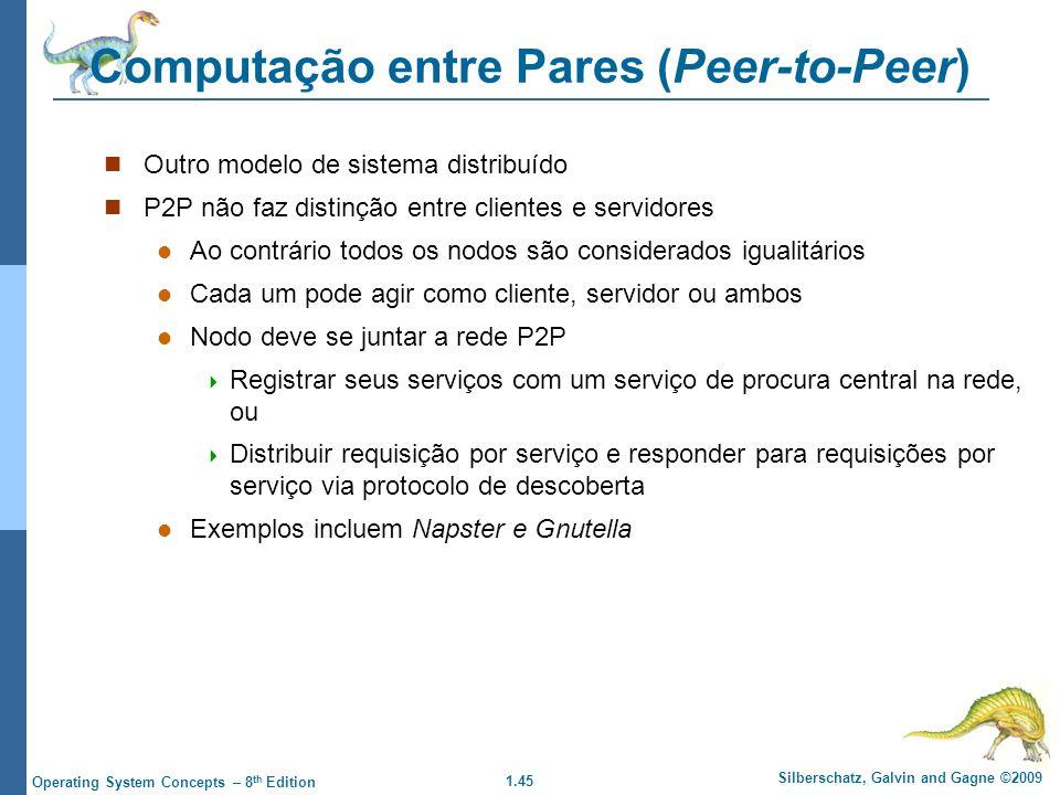 Computação entre Pares (Peer-to-Peer)