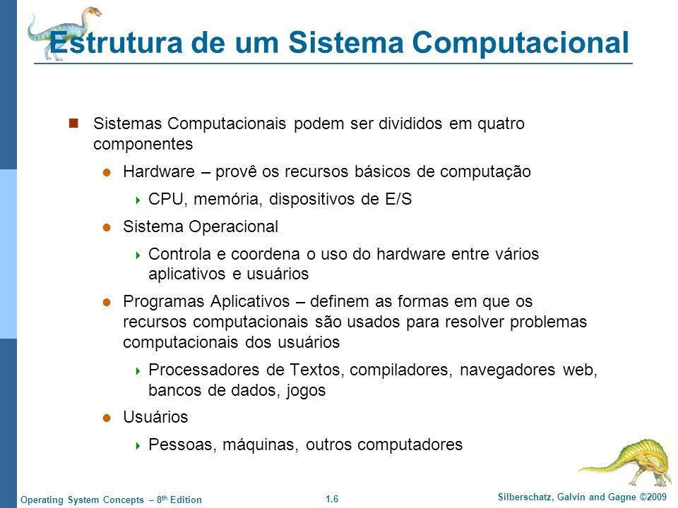 Estrutura de um Sistema Computacional