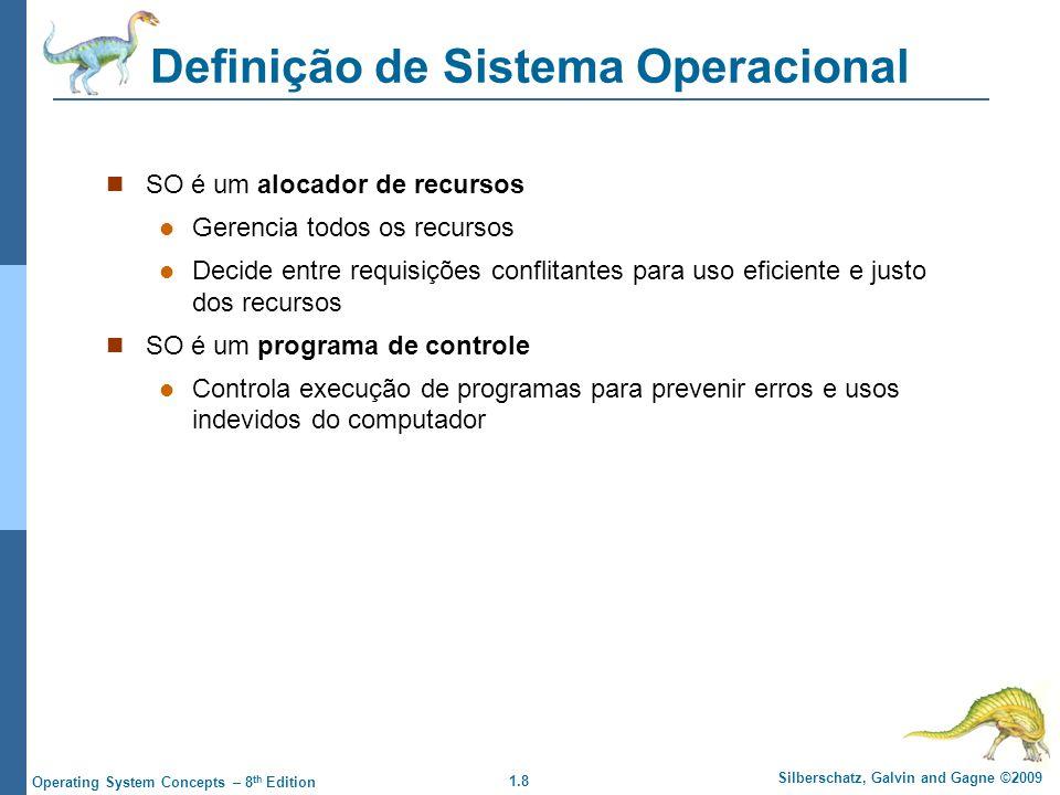 Definição de Sistema Operacional