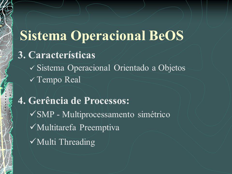 Sistema Operacional BeOS