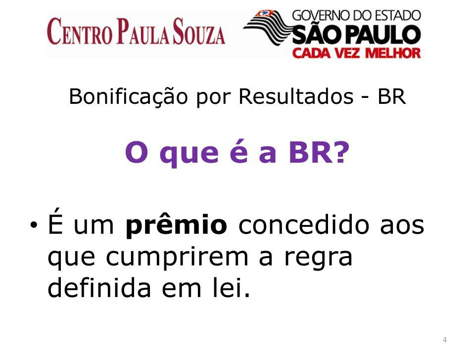 Bonificação por Resultados - BR O que é a BR