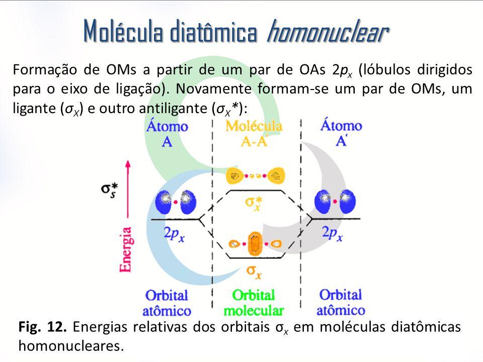 Molécula diatômica homonuclear