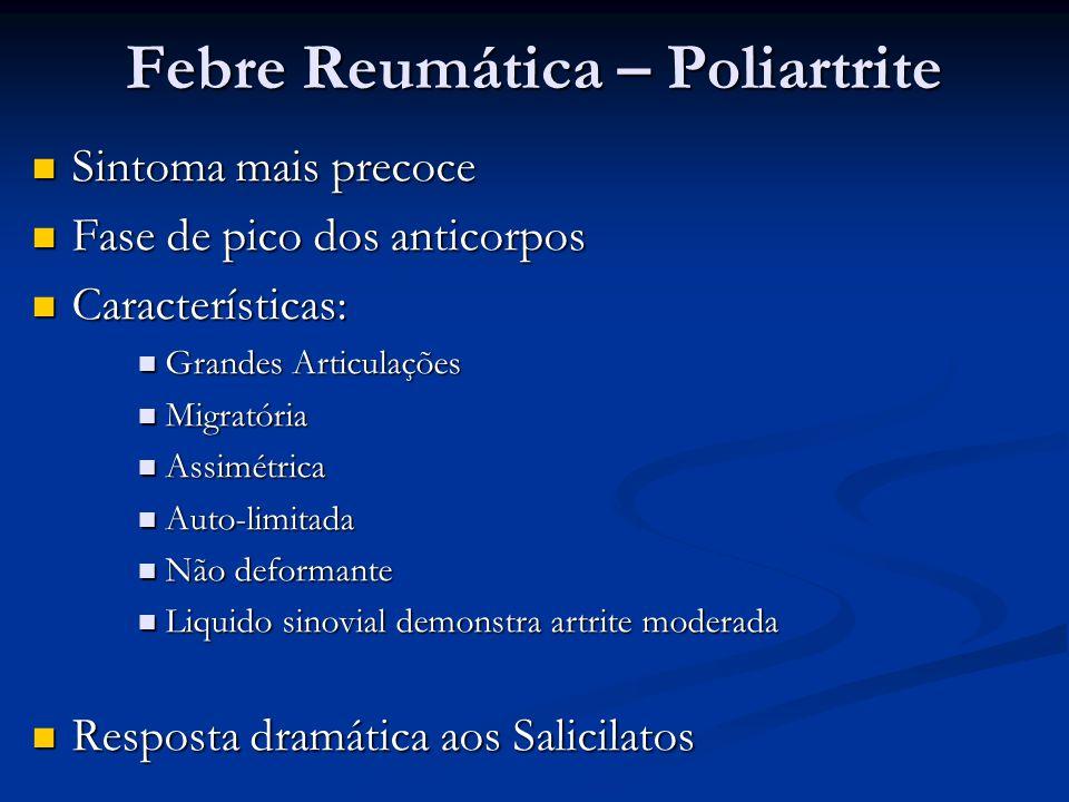 Febre Reumática – Poliartrite