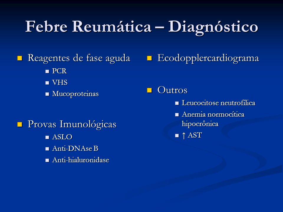 Febre Reumática – Diagnóstico